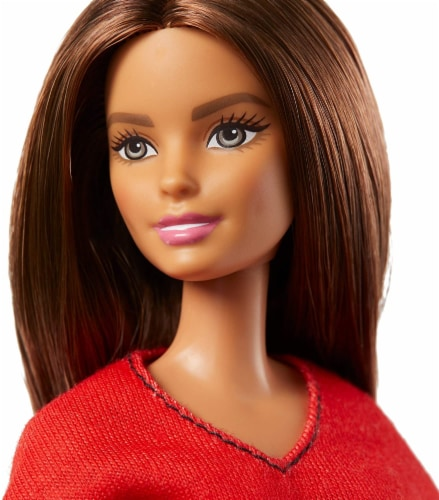 Barbie Doll with 2 Career Looks That Feature 8 Clothing and Accessory Surprises Perspective: right