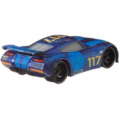 Disney Pixar Cars Spikey Fillups and Chase Racelott Toy Racers Perspective: right