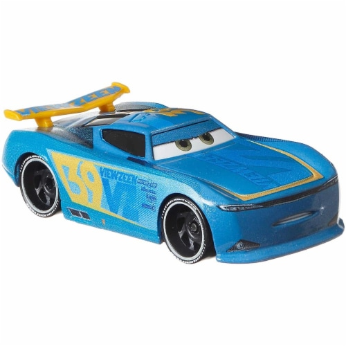 Disney Pixar Cars Herb Curbler & Michael Rotor Toy Racers Perspective: right