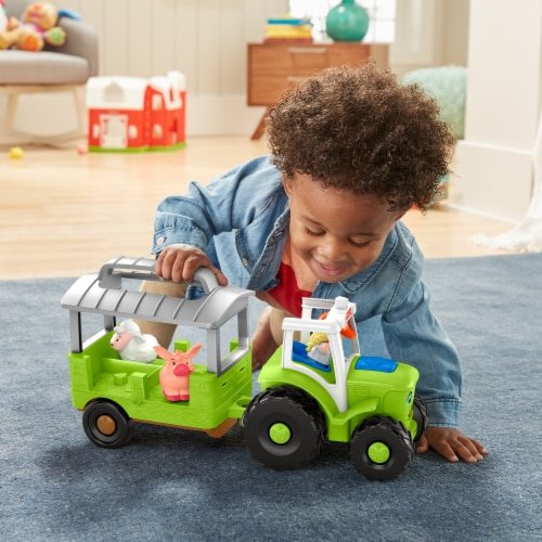 Fisher-Price® Little People Caring for Animals Tractor Perspective: right