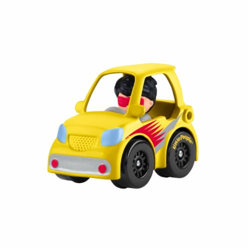 Fisher-Price® Little People Wheelies Micro Car Vehicle Perspective: right