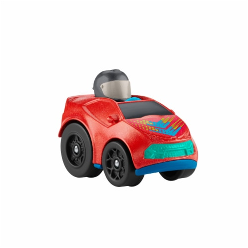 Fisher-Price® Little People Wheelies Super Car Vehicle Perspective: right