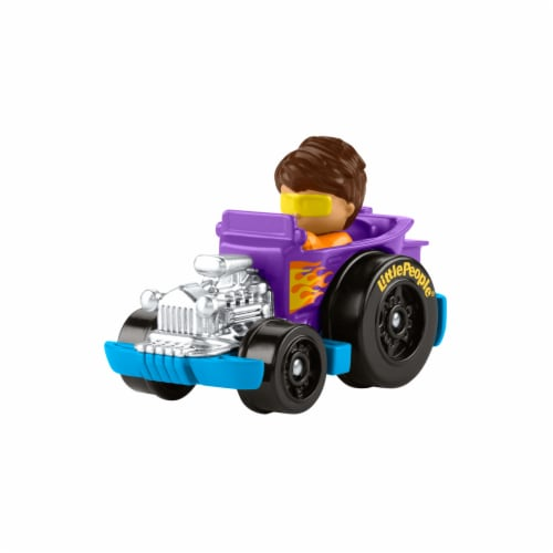 Fisher-Price® Little People Wheelies Hot Rod Vehicle Perspective: right