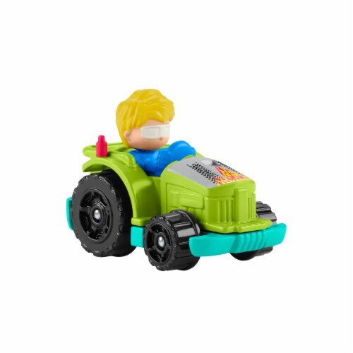 Fisher-Price® Little People Wheelies Racing Tractor Vehicle Perspective: right