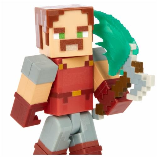 Mattel Minecraft Dungeons 325 Hal Figure Perspective: right