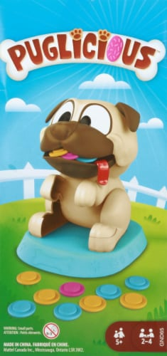 Mattel Puglicious Board Game Perspective: right