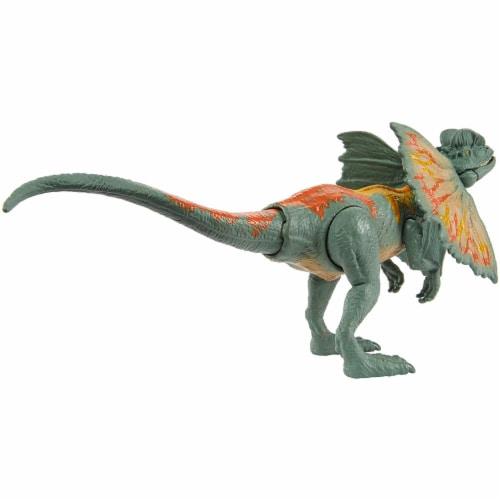 Jurassic World Savage Strike Dilophosaurus Figure Perspective: right