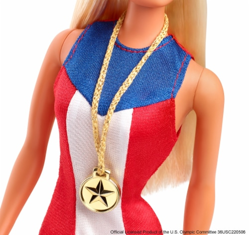 Mattel Barbie® Gold Medal Barbie Doll Perspective: right