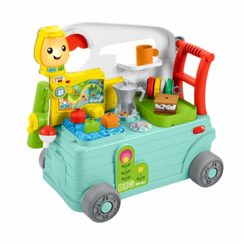 Fisher-Price® Laugh & Learn 3-in-1 On the Go Camper Perspective: right