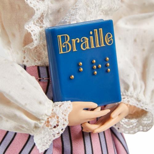 Mattel Barbie® Inspiring Women Helen Keller Doll Perspective: right