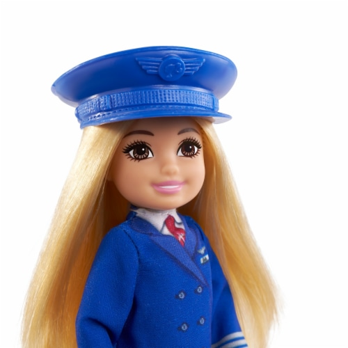 Barbie® Chelsea™ Career Doll Flight Attendant Doll Perspective: right
