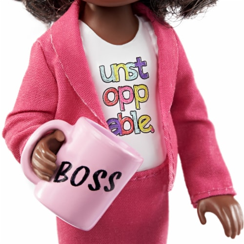 Barbie® Chelsea™ Career Boss Doll Perspective: right