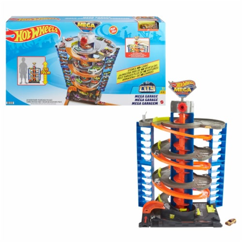 Mattel™ Hot Wheels® City Mega Garage Playset Perspective: right