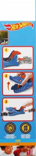 Mattel Hot Wheels Shark Launcher and Car Perspective: right