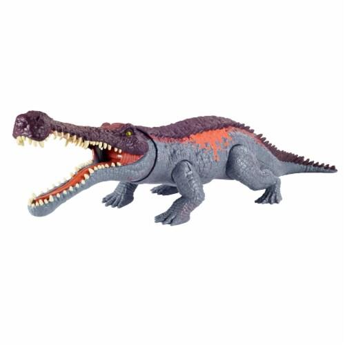 Jurassic World Massive Biters Sarcosuchus Dinosaur Figure Perspective: right