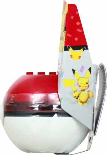 Mega Construx Pokemon Pikachu Construction Set Perspective: right