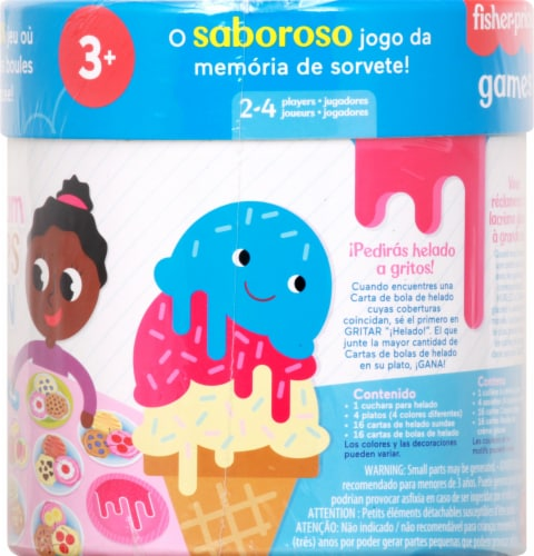 Fisher-Price® Ice Cream Scoops of Fun Game Perspective: right
