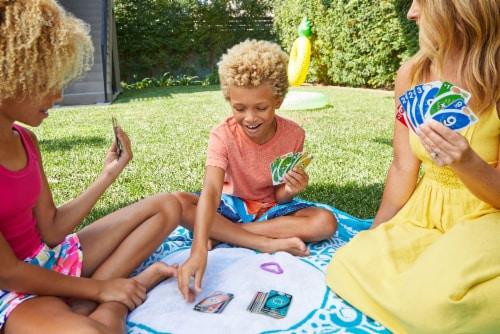 Uno Flip Splash Card Game Perspective: right