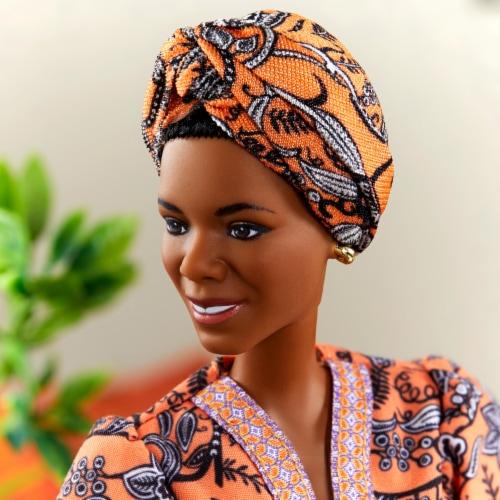 Mattel Barbie® Maya Angelou Inspiring Women Doll Perspective: right
