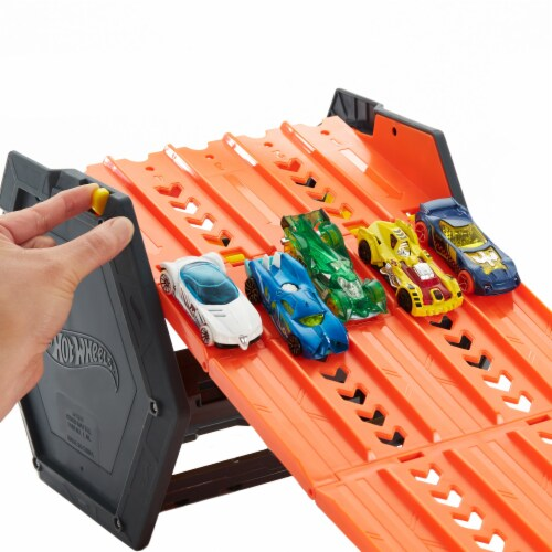 Mattel Hot Wheels® Roll Out Raceway Track Set Perspective: right