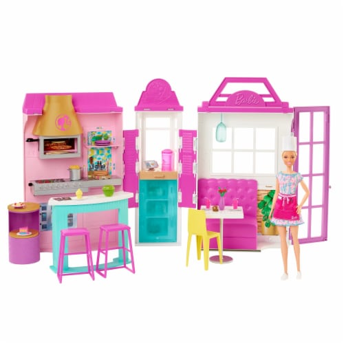 Mattel Barbie® Cook 'n Grill Restaurant Doll and Playset Perspective: right