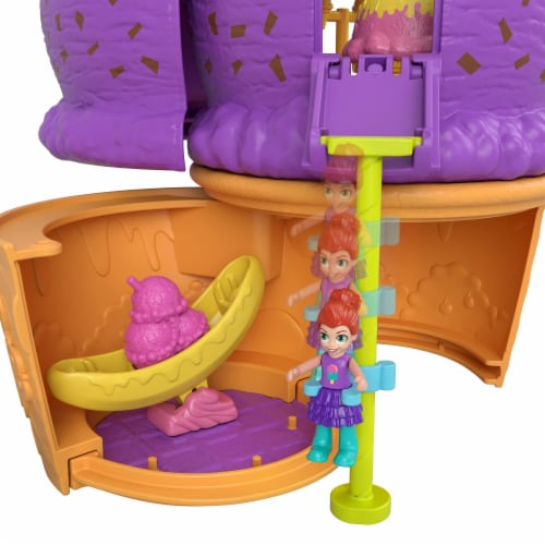 Mattel® Polly Pocket™ Spin 'N Surprise Playground Perspective: right
