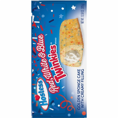 Hostess Red White & Blue Twinkies Perspective: right