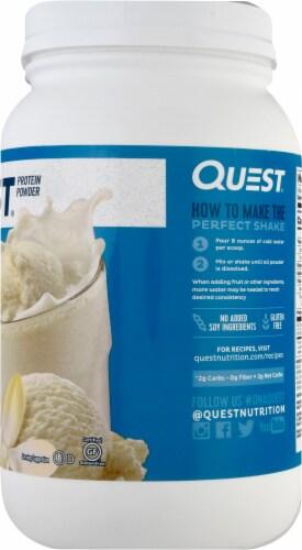 Quest Vanilla Milkshake Protein Powder Perspective: right