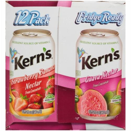 Kern's Strawberry Banana & Guava Nectar Perspective: right