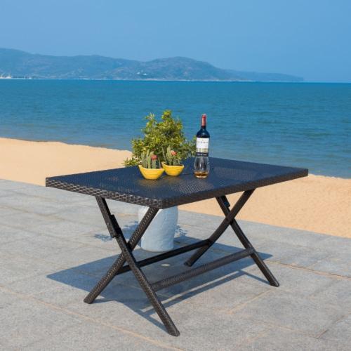 Akita Folding Table Black Perspective: right
