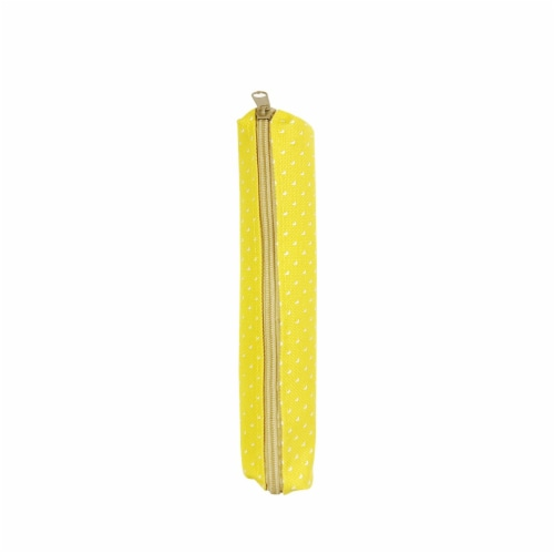 Wrapables Trendy Food Pencil Case and Stationery Pouches (Set of 3), Yellow Perspective: right
