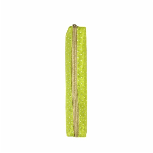 Wrapables Trendy Food Pencil Case and Stationery Pouches (Set of 3), Green Perspective: right