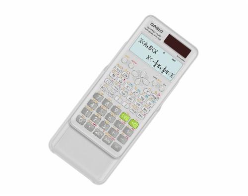 Casio Scientific FX-115 Calculator - White Perspective: right