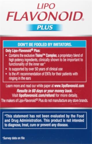 Lipo Flavonoid Plus Inner Ear Health Caplets Perspective: right