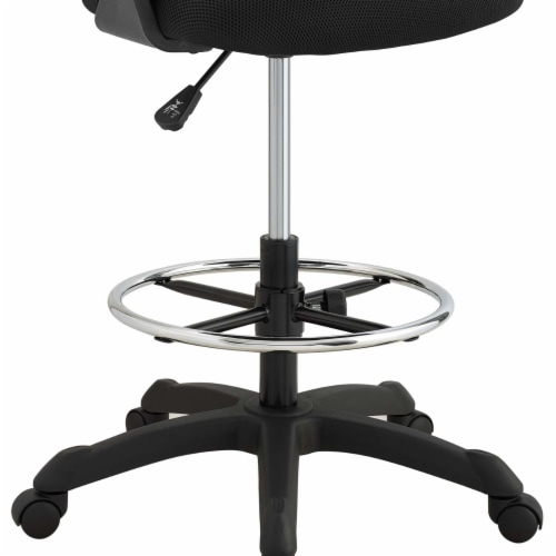 Thrive Mesh Drafting Chair - Black Perspective: right