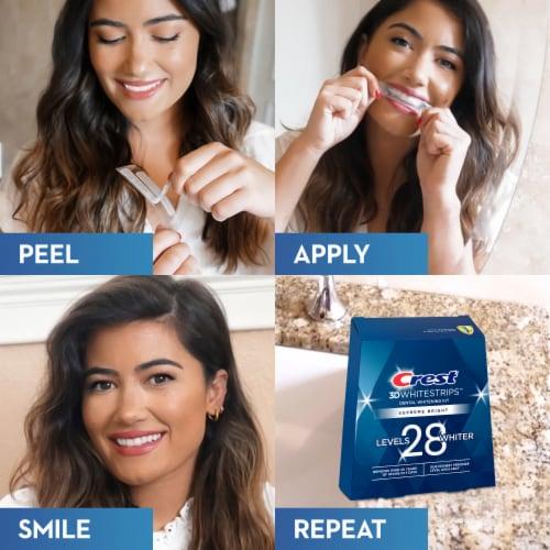 Crest 3D Whitestrips Supreme FlexFit Teeth Whitening Kit Perspective: right