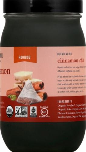 Paromi Cinnamon Chai Rooibos Full Leaf Tea Sachets Perspective: right