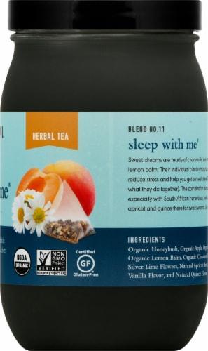 Paromi Sleep wiht Me Herbal Tea Full Leaf Tea Sachets Perspective: right