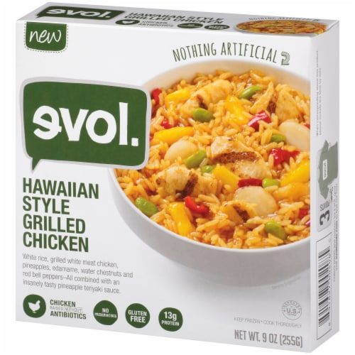 Evol Hawaiian Style Grilled Chicken Perspective: right