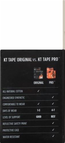 KT Tape Original Blue Elastic Sports Tape Perspective: right