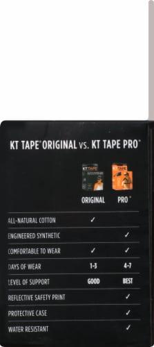KT Tape Original Elastic Sports Tape - Black Perspective: right