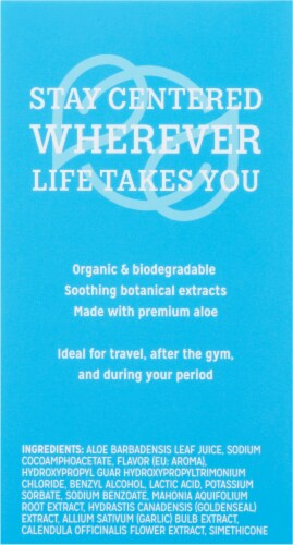 Good Clean Love Rebalance Personal Moisturizing & Cleansing Wipes Perspective: right