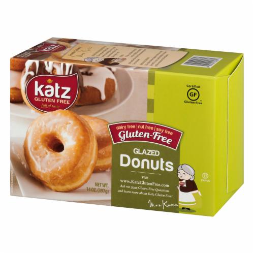 Katz Gltuen-Free Glazed Donuts Perspective: right