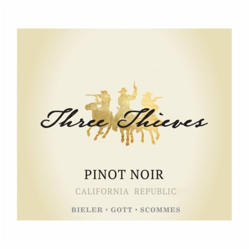 Three Thieves Pinot Noir Perspective: right