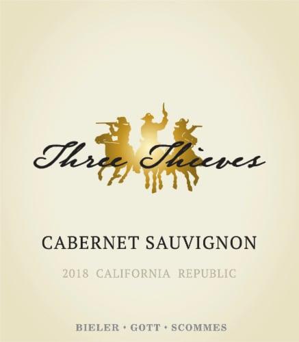 Three Thieves Cabernet Sauvignon Perspective: right
