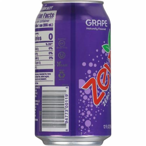 Zevia Grape Zero Calorie Soda Perspective: right