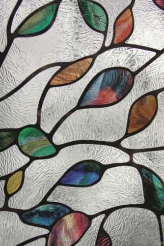 Artscape® New Leaf Window Film - Multi-Color Perspective: right