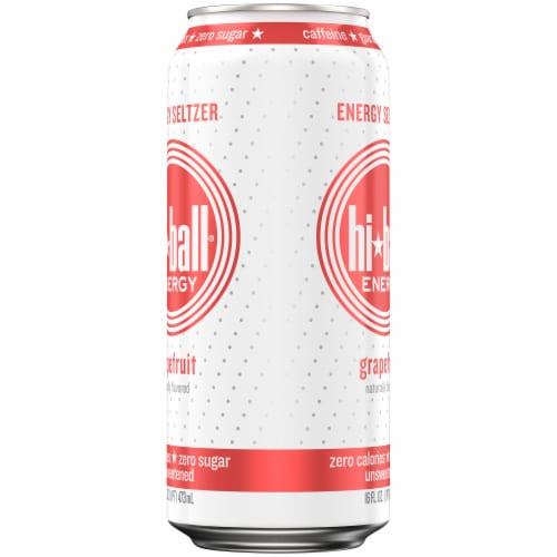 HiBall Grapefruit Sparkling Energy Water Perspective: right