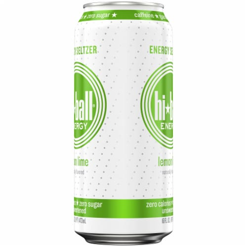 HiBall Lemon Lime Sparkling Energy Drink Perspective: right
