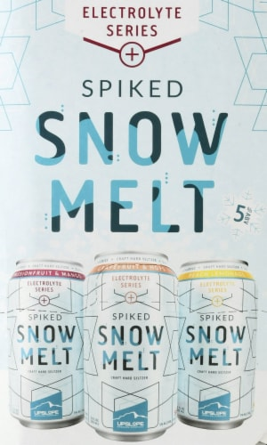 Upslope Brewing Co. Spiked Snowmelt Craft Hard Seltzer Variety Pack Perspective: right